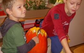 Podzimní strašidýlka